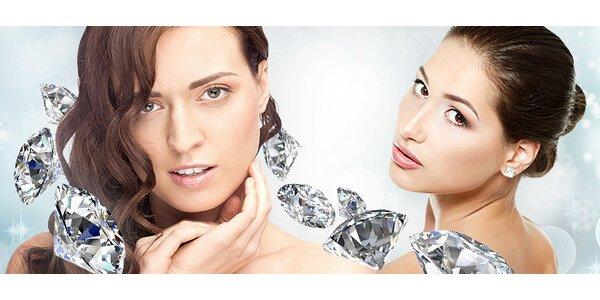 Diamantová dermabrázia a ionoforéza