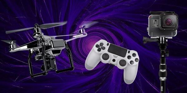 Zapožičanie herných konzol, kamery alebo drona