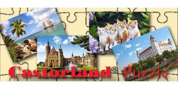 Castorland puzzle - 1000 alebo 1500 kusové