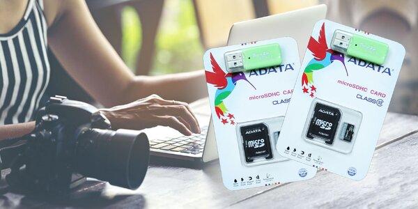 Micro SD karta 64 GB + čítačka micro SD kariet USB 2.0