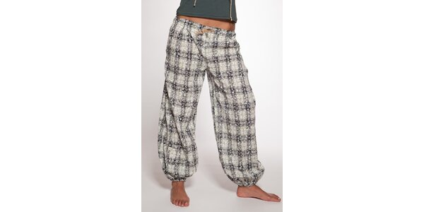 Volné kockované nohavice Ian Mosh