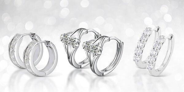 Oceľové šperky s krištáľmi Swarovski Elements