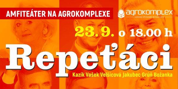 Vstupenka na koncert Repeťákov v Nitre