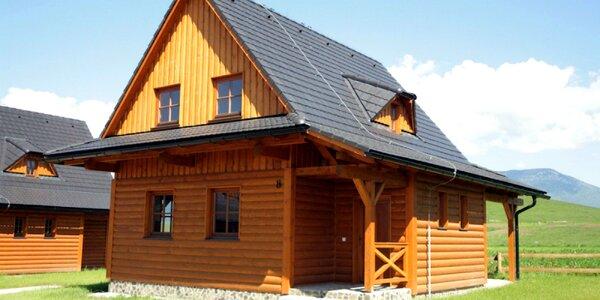 Romantické chaty na Liptove pre 4 až 8 osôb