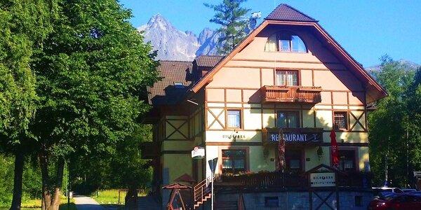 Pobyt v srdci Tatranskej Lomnice v Penzióne VILA PARK***