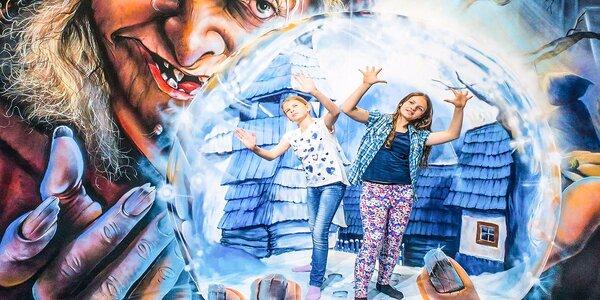 TRICKLANDIA! Vstupenka do galérie trick-artu a optických ilúzií!