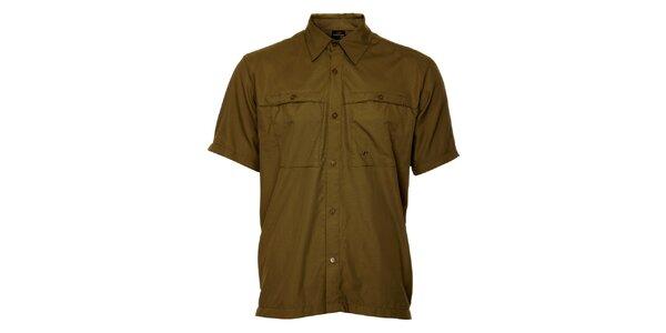 Pánska khaki košeľa Hannah