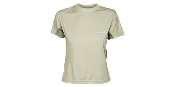 Dámske svetlo šedé tričko Hannah