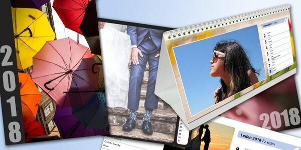 Vytvorte si stolné alebo nástenné A3 fotokalendáre