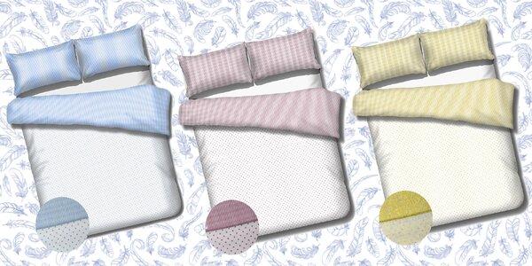 Súprava posteľných obliečok z ľahkej bavlny