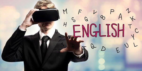 Naučte sa jazyk pomocou virtuálnej reality