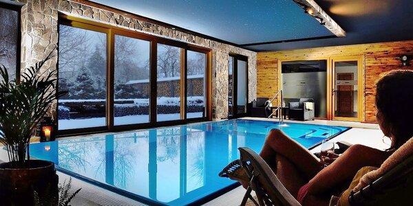 Resort Mária*** v Nízkych Tatrách s wellness a vyhrievaným bazénom
