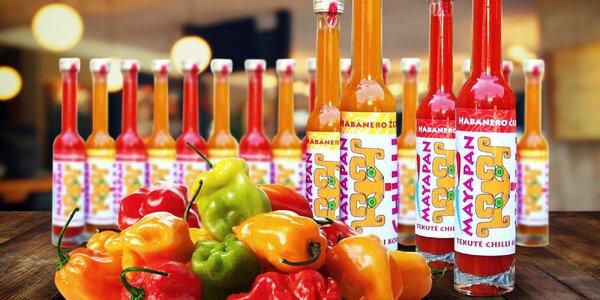 100 % šťava z chilli papričiek odrody Habanero