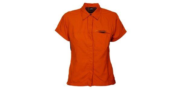Dámska oranžová košeľa Hannah