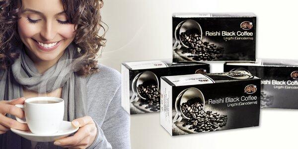 Zdravá čierna káva s Reishi