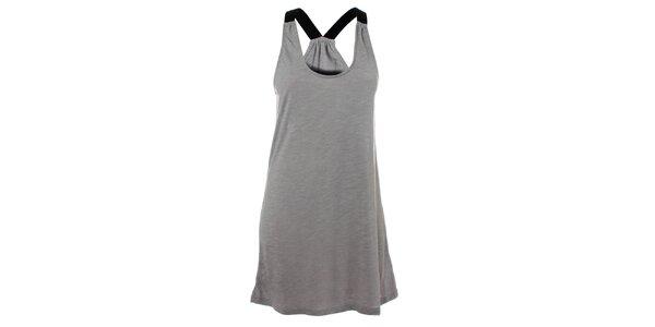 Dámske šedé bavlnené šaty Santa Barbara
