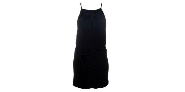 Dámske čierne šaty Santa Barbara