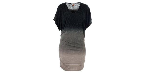 Dámske šedé dúhové šaty Santa Barbara