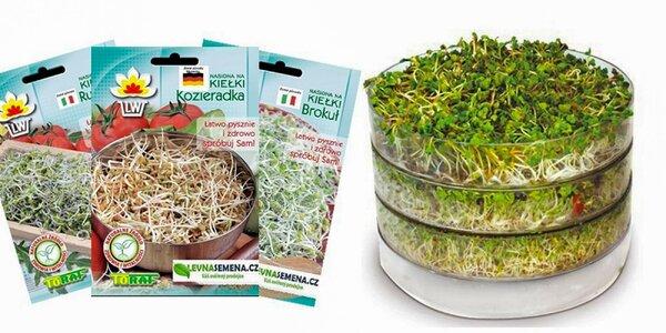 Klíčiaca biomiska alebo semienka na klíčenie