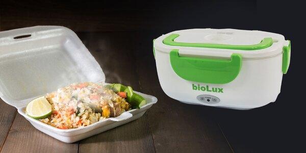 Box na jedlo s revolučným systémom ohrevu