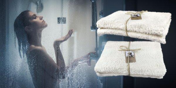 EKO uterák a osuška zo 100% bavlny
