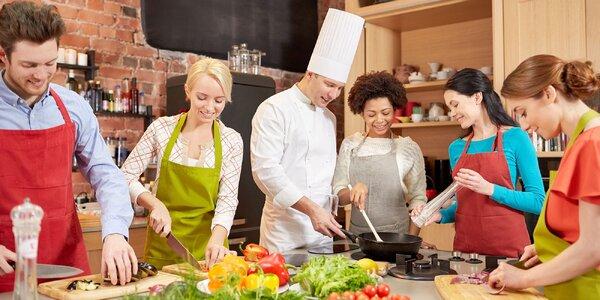 Kurzy pre všetkých gurmánov v Škole varenia