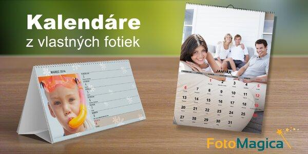 Vlastný VEĽKÝ kalendár z vašich fotografií