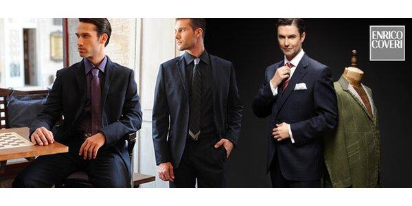 50 % zľava na oblek značky Enrico