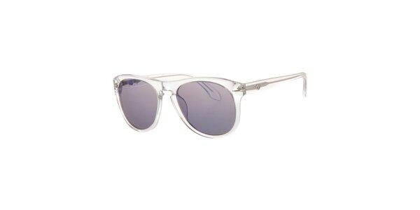 Pánske transparentné slnečné okuliare Calvin Klein s tmavými sklami