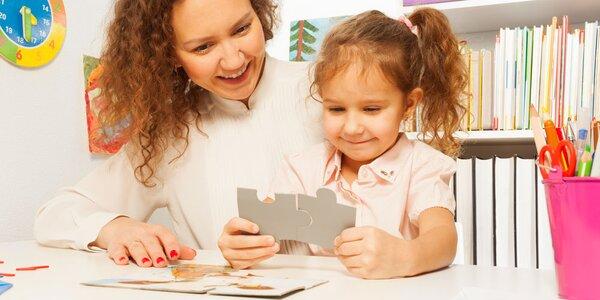 XXL balenie desiatich drevených puzzle pre deti