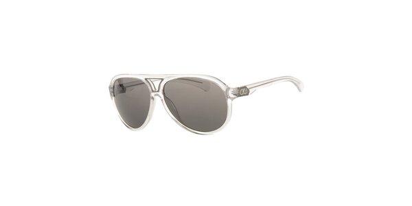 Pánske transparentné slnečné okuliare Calvin Klein