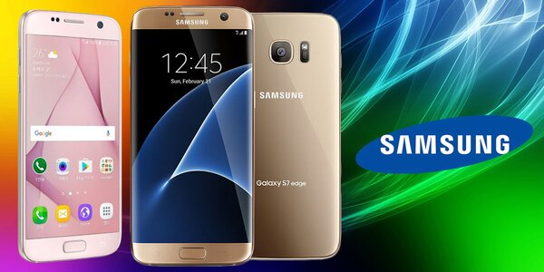 Zánovné telefóny Galaxy S6 a S7 Samsung