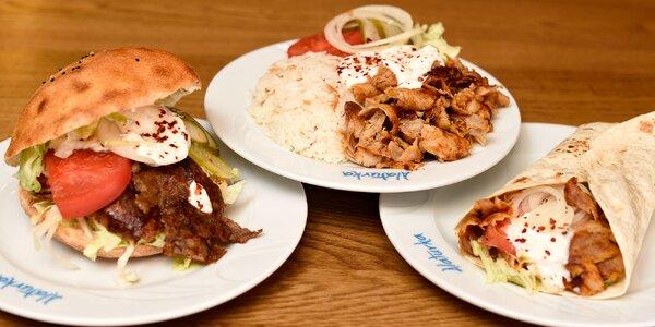 Kurací či teľací kebab vo Fresh markete