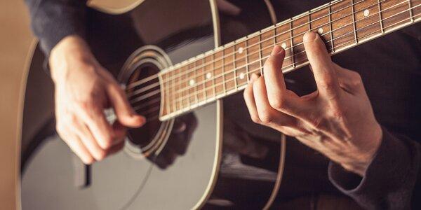 Gitarový kurz so známym gitaristom Neilom Hoganom