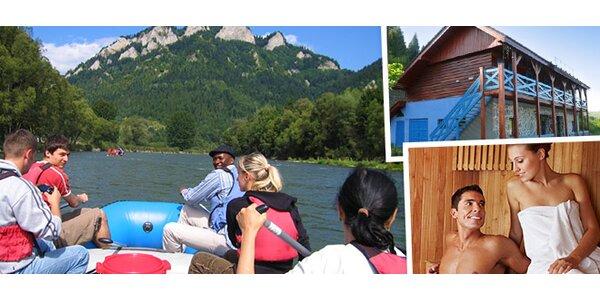 Splav rieky Dunajec alebo splav spolu s ubytovaním