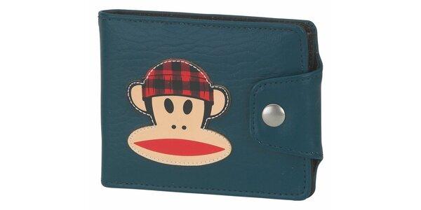 Dámska petrolejová peňaženka Paul Frank