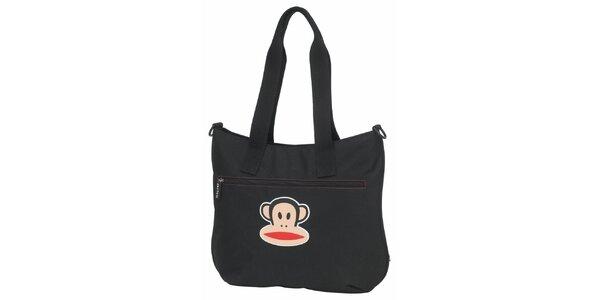 Dámska čierna taška cez rameno Paul Frank