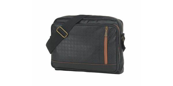 Čierna taška cez rameno Paul Frank