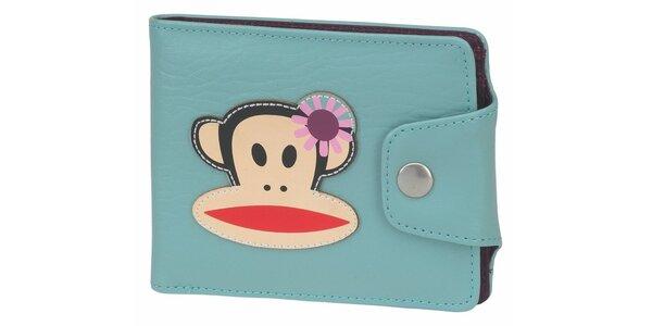 Dámska svetlo modrá peňaženka Paul Frank