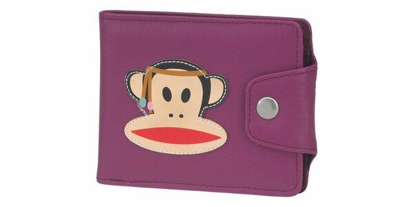 Dámska fialová peňaženka Paul Frank