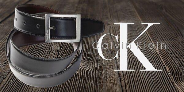 Pánske luxusné kožené opasky Calvin Klein