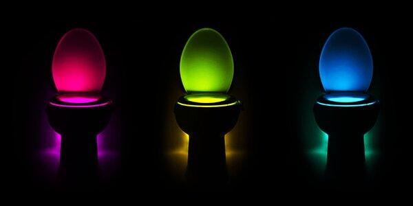 LED svetlo pre toaletu so snímačom pohybu