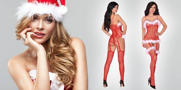 Vianočná sexi bielizeň