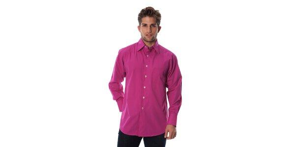 Pánska fuchsiová košeľa Cristian Lay