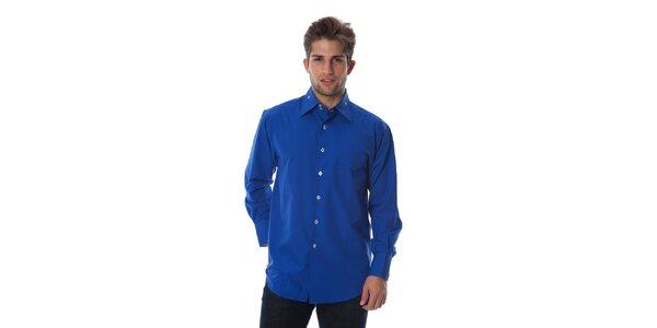 Pánska královsky modrá košeľa Cristian Lay