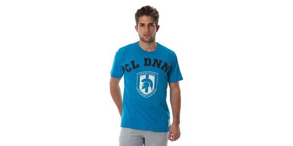 Pánske tyrkysové tričko Cristian Lay