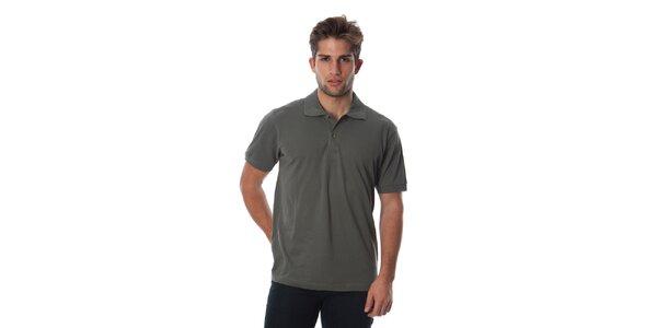 Set troch pánskych polo tričiek v modrej, zelenej a khaki Cristian Lay