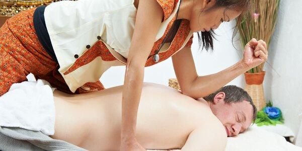 Thajská 60-minútová masáž (5 druhov)