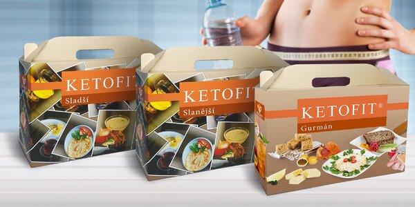 Proteínová diéta KETOFIT® k redukcii váhy