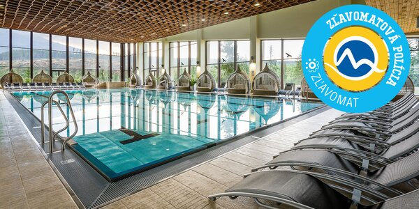 Hotel Pieris Podbanské so vstupom do wellness Grand hotela Permon****